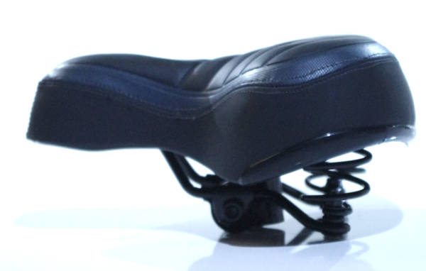 double training on bicycle seat