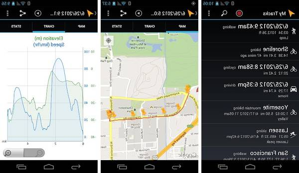 bike gps apps for android